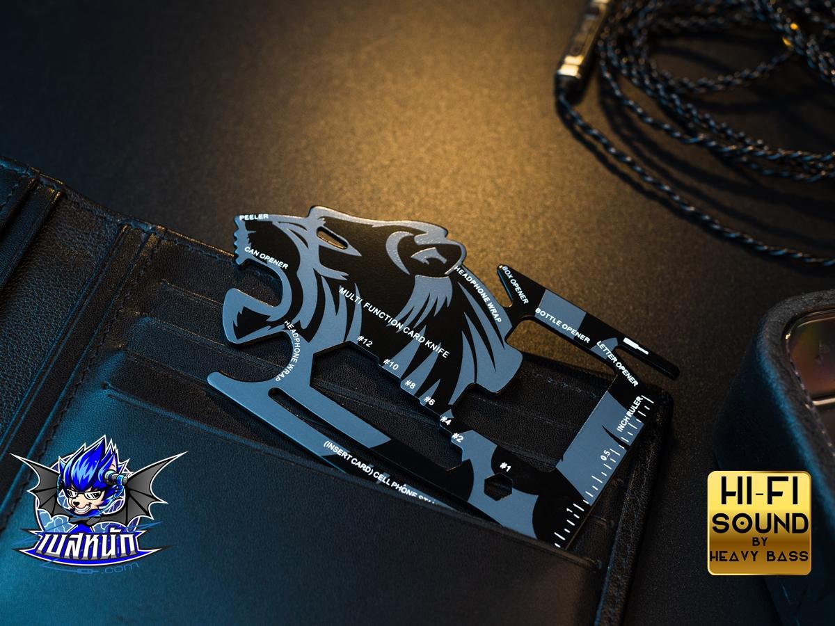 การ์ดเอนกประสงค์ (ซื้อพร้อมหูฟังเหลือ 14 บาท!!) Wallet  versatile Card พกไว้ เท่ อุ่นใจ !!!